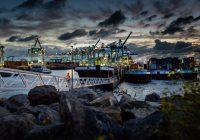 Haven Rotterdam Containers Overslag Schepen