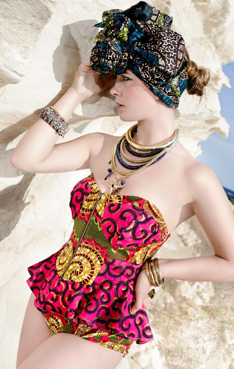 mode Afrikaans modefotografie