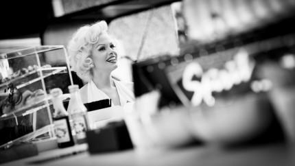 Marilyn Monroe lookalike Claudia Kooij